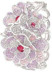 Camélia Origami bracelet from the Chanel Jardin de Camélias collection. White...