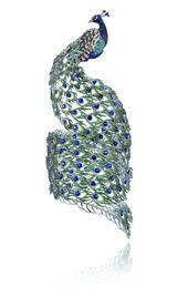 Chopard peacock bracelet. Beautiful!