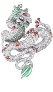 {Daily Jewel} Breathtaking Dragon Bracelet by Harumi for Chopard - Haute Tramp Blog