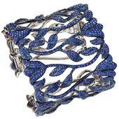 Sapphire bracelet by Chopard