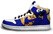 Cookie Monster Hightops from Brass Monki