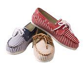 Summer Stripes Slip-ons.