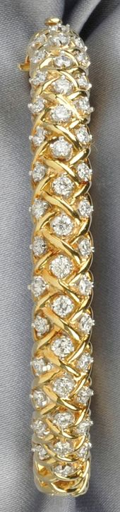 18kt Gold and Diamond Bracelet, Tiffany & Co., ♥✤ | Keep Smiling | BeStayBea...