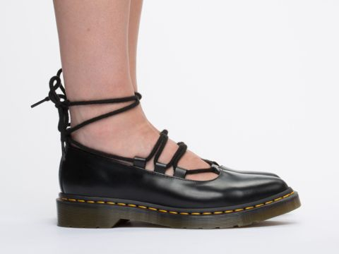 Dr. Martens Elphie in Black Polished Smooth