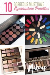 Eyeshadow Palettes | Best Drugstore And High-End Palettes