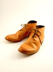 men's Desert Boots by Leather & Silver MOTO