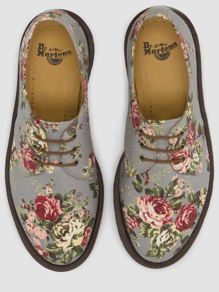 Floral Doc Martins